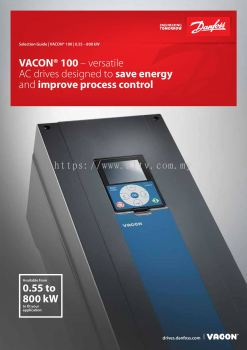 Danfoss Vacon 100 Flow