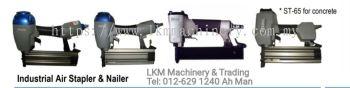 Air/Pneumatic Stapler & Nailer F30, ST65, 1022J