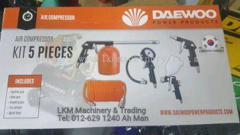 Daewoo Air Compressor Kits 5pcs