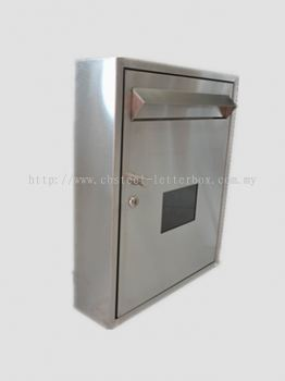 Stainless Steel Window Mail Box