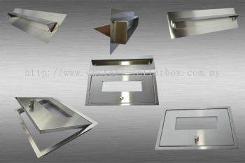 STAINLESS STEEL LETTER BOX PANEL