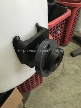 1��d PVC Loose Backing Ring Flange Type