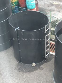 DLM Model HDPE Tank - Open Top