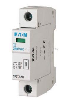 Plug In Surge Arrester, 1 Pole, Eaton Moeller, SPCT2-280/1