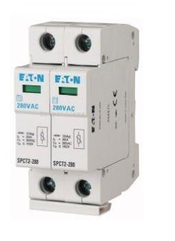 Plug In Surge Arrester, 2 Pole, Eaton Moeller, SPCT2-280/2