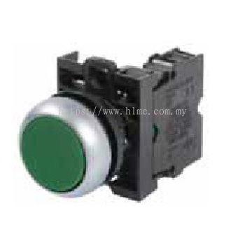 Non Illuminated Push Button, M22 Series, Eaton Moeller