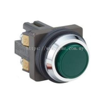Non Illuminated Push Button, ABN1 Series, 30mm, Idec