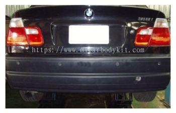 BMW 3 SERIES E46 1998-2004 M3 STYLE REAR BUMPER 1 HOLE (PP)