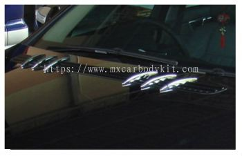 MERCEDES BENZ C-CLASS W204 2007 & ABOVE HOOD AIR VENT SL LOOK