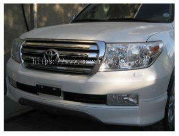 TOYOTA LAND CRUISER 2008 & ABOVE FRONT LIP