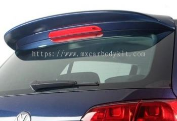 VOLKSWAGEN GOLF MK6 2014 & ABOVE RD TYPE REAR ROOF SPOILER