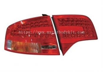 AUDI A4 (B8) 2005-2008 LOOK REAR LAMP CRYSTAL LED