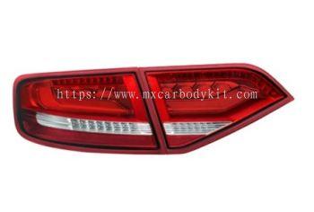 AUDI A4 (B8) 2008 REAR LAMP CRYSTAL W/LED + LIGHT BAR