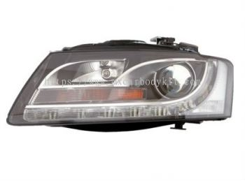 AUDI A5 2008 HEAD LAMP CRYSTAL PROJECTOR W/DRL (H7)