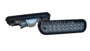 HONDA ACCORD 1994-1997 REAR BUMPER REFLECTOR W/LED CLEAR LENS