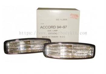 HONDA ACCORD 1994-1997 SIDE LAMP CRYSTAL