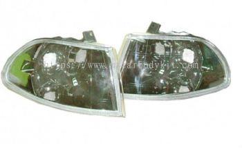 HONDA CIVIC 1992-1995 2D CORNER LAMP CRYSTAL CHROME