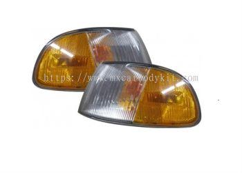 HONDA CIVIC 1992-1995 4D CORNER LAMP AMBER/CLEAR US TYPE