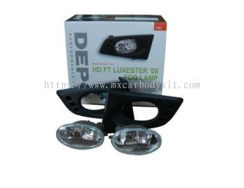 HONDA JAZZ FIT 2008 & ABOVE MODULO FOG LAMP CRYSTAL W/WIRING + SWITCH