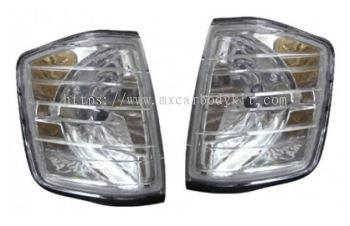 MERCEDES BENZ W201 1982-1993 CORNER LAMP CRYSTAL CLEAR