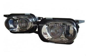 MERCEDES BENZ W203 2000-2006 AMG FRONT BUMPER FOG LIGHT PROJECTOR GLASS LENS