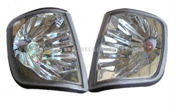 MERCEDES BENZ W124 1986-1995 CORNER LAMP CRYSTAL W/RAINBOW BULB