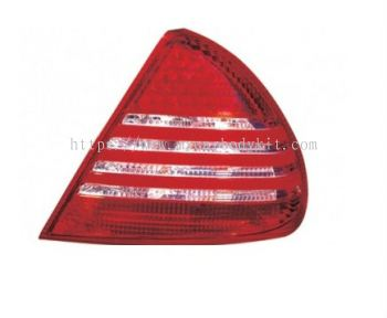 MITSUBISHI LANCER 1995-2000 REAR LAMP CRYSTAL LED RED/CLEAR