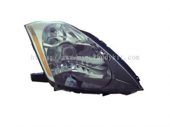 NISSAN FAIRLADY 2003-2008 HEAD LAMP CRYSTAL PROJECTOR CHROME