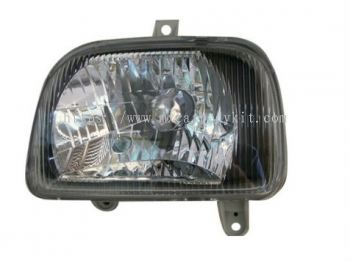 PERODUA KANCIL 1994 HEAD LAMP CRYSTAL GLASS CHROME