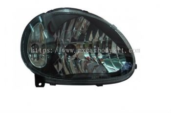 PERODUA KELISA 2002-2006 HEAD LAMP CRYSTAL BLACK