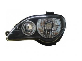 PROTON GEN 2/PERSONA 2005 & ABOVE HEAD LAMP CRYSTAL BLACK W/CCFL