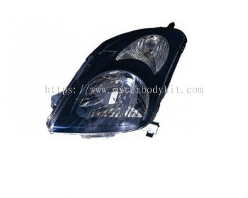 SUZUKI SWIFT 2005 & ABOVE HEAD LAMP CRYSTAL BLACK SPORT TYPE