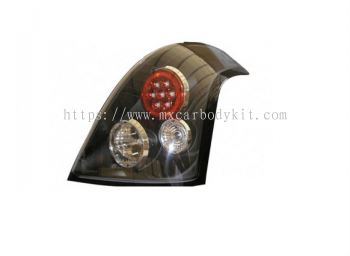 SUZUKI SWIFT 2005 & ABOVE REAR LAMP CRYSTAL LED BLACK