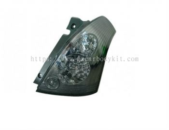 SUZUKI SWIFT 2005 & ABOVE REAR LAMP CRYSTAL LED SMOKE