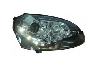 VOLKSWAGEN GOLF 2003-2007 HEAD LAMP PROJECTOR W/LED + MOTOR