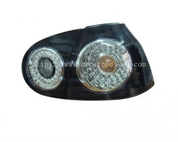 VOLKSWAGEN GOLF 2003-2007 REAR LAMP CRYSTAL LED BLACK