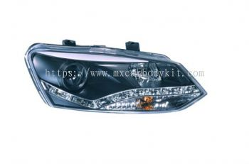 VOLKSWAGEN POLO 2011 & ABOVE HEAD LAMP PROJECTOR W/DRL FUNCTION