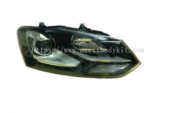 VOLKSWAGEN POLO 2011 & ABOVE HEAD LAMP PROJECTOR W/LED GTI STYLE