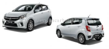 PERODUA AXIA FACELIFT GEAR UP BODYKIT + SPOILER
