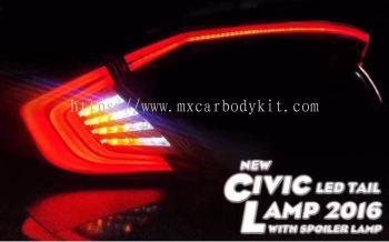 HONDA CIVIC 2016 FC LED TAIL LAMP WITH SPOILER LAMP