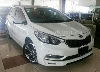 KIA K3 CERATO 2013 OEM BODY KIT + SPOILER