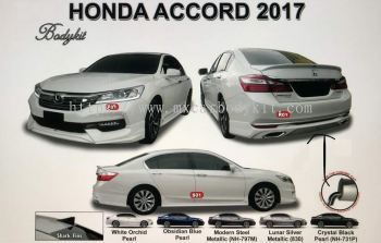 HONDA ACCORD 2017 AM STYLE BODYKIT WITH SPOILER