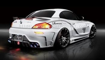 BMW Z4 E89 2009 TOMMY KAIRA REAR BUMPER