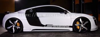 AUDI R8 TYP 42 RIEGER SIDE SKIRT