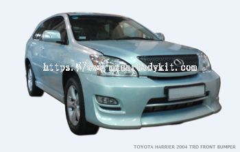 TOYOTA HARRIER 2004 TRD FRONT BUMPER