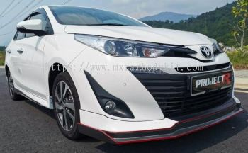 TOYOTA VIOS 2019 PROJECT R CONCEPT BODYKIT FOR OEM ADD ON KIT