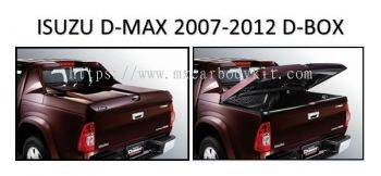 ISUZU D-MAX 2007 - 2012 D-BOX WITH LOCK