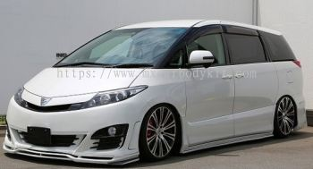 TOYOTA ESTIMA 2009 ABOVE SIXTH SENSE SIDE SKIRT