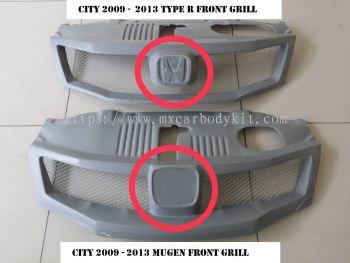 HONDA CITY 2009 - 2013 TYPE R & MUGEN FRONT GRILL