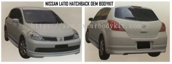NISSAN LATIO HATCHBACK OEM BODYKIT